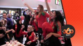Cover Video -Le360.ma •اجواء هستيرية بطنجة احتفالا بتأهل المنتخب المغربي