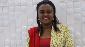 رئيسة الاتحاد الإفريقي للشباب