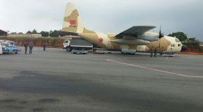 طائرة مساعدات