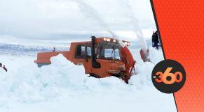غلاف فيديو -  كاسحات الثلوج لفك العزلة عن القرى المحاصرة بخنيفرة