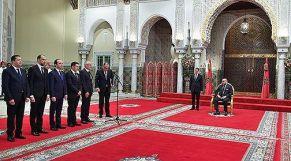 الملك يعين 5 وزراء جدد في حكومة العثماني