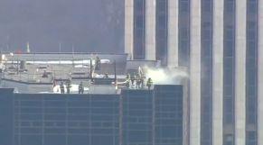 حريق برج ترامب