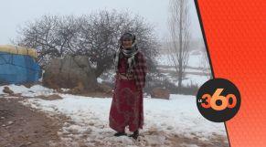غلاف فيديو - عزلة وفقر..هكذا يعاني سكان جبال الأطلس مع موجة البرد