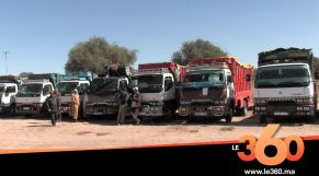 غلاف فيديو - اضراب الشاحنات يشل الحركة التجارية بإنزكان