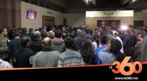 غلاف فيديو - إغماءات واحتجاجات لحظة النطق بالحكم في حق بوعشرين