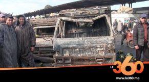 cover: بعد الحريق المهول..تجار سوق الجملة بالدارالبيضاء يحصون خسائرهم