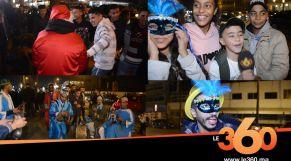 cover vidéo: Le360.ma • أجواء احتفالية ونشاط تجاري بشاطئ عين الذئاب ليلة رأس السنة
