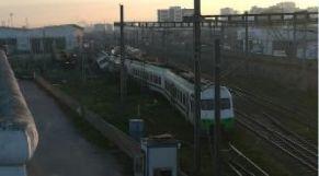 قطار يزيغ