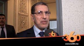 cover: سعد الدين العثماني يعد بحل مشكل تجار درب عمر