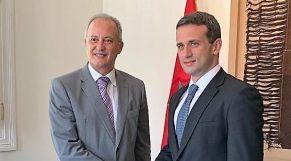 سفير المغرب في ليما مع ممثل فنزويلا