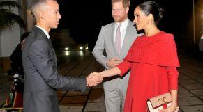 مولاي الحسن يستقبل الأمير هاري وعقيلته الأميرة ميغان