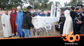 استخراج جثة امرأة بابن احمد