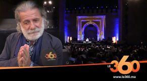 Cover_Vidéo: Le360.ma •مارسيل خليفة من مهرجان فاس للموسيقى الروحية: سأحضن حب المغاربة في قلبي