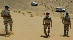 اشتباكات المنطقة العازلة بالصحراء