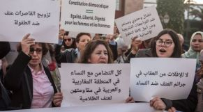 وقفة لمحاربة العنف ضد النساء