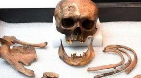 عظام بشرية أثرية