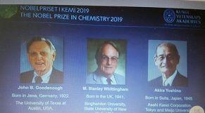 جائزة نوبل للكيمياء 2019
