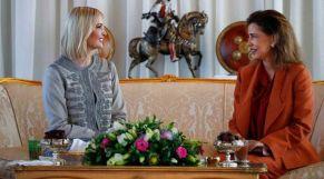 الأميرة لالة مريم تستقبل إيفانكا ترامب
