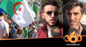 cover: الرئاسيات الجزائرية: جزائريون في المغرب يعلنون عن مواقفهم