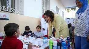 الأميرة لالة حسناء في جمعية الإحسان بالبيضاء