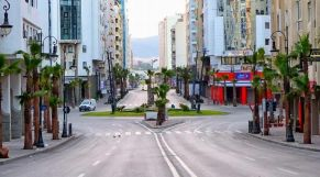 شارع فارغ حجر صحي