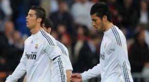 لاعبي ريال مدريد السابقين، الأرجنتيني إزيكييل غاراي، والبرتغالي كريستيانو رونالدو