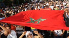 مظاهرة بالمغرب