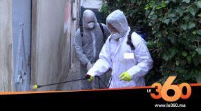 شباب يتطوعون لتعقيم أزقة الدار البيضاء