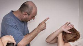 العنف المنزلي