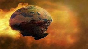 صورة افتراضية لنهاية العالم