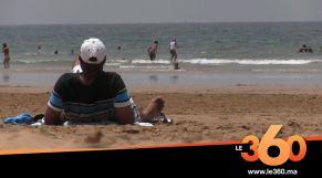 Cover_Vidéo: إقبال كبير للمصطافين على شاطئ أكادير بعد رفع الحجر الصحي