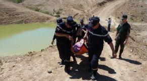 غرق في سد المغرب