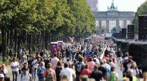 مظاهرات ضد قيود كورونا