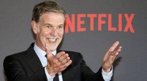 ريد هاستينغز، الرئيس التنفيذي لشركة Netflix