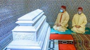 أمير المؤمنين يترحم على روح الملك الراحل الحسن الثاني