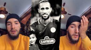 زهير بهاوي يذرف الدموع على وفاة اللاعب أبرهون