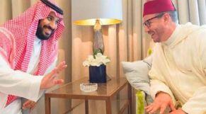 الملك محمد السادس والأمير بن سلمان