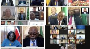 اجتماع لمجلس السلم والأمن التابع للاتحاد الإفريقي