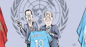 كاريكاتير: انتخاب هلال رئيسا للجنة الأولى للجمعية العامة للأمم المتحدة