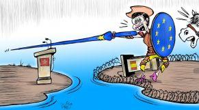 كاريكاتير: المغرب يندد بمحاولات إسبانيا إقحام أوروبا في الأزمة القائمة بين مدريد والرباط
