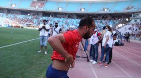 إختناق بانون وزملاءه في الأهلي في ملعب رادس قبل قمة الترجي