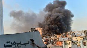 انفجار معمل بيروت