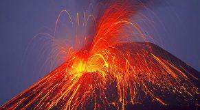 ثوران بركان في جزر الكناري