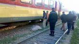 قطار يدهس