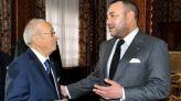 الملك محمد السادس والرئيس قائد السبسي
