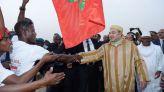 الملك محمد السادس بإحدى دول إفريقيا