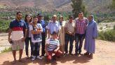 المرزوقي رفقة عائلته المغربية