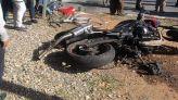 حادث دراجة نارية