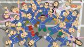 """cover video - le36 """"بنكيران في مدرسة المشاغبين: """"رقصة المطر"""