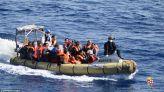 أساة مهاجرين انقلب قاربهم بالبحر المتوسط